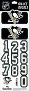 NHL Pittsburgh Penguins Decals — Black (Retro)