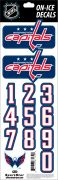 NHL Washington Capitals Decals — Navy