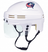 Columbus Blue Jackets Mini Helmet — White