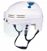St. Louis Blues Mini Helmet — White