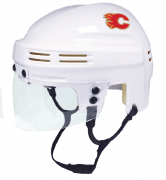 Calgary Flames Mini Helmet — White