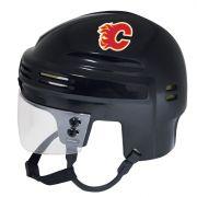 Calgary Flames Mini Helmet — Black