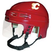 Calgary Flames Mini Helmet — Red
