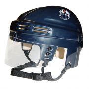 Edmonton Oilers Mini Helmet — Navy