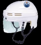 Edmonton Oilers Mini Helmet — White