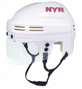New York Rangers Mini Helmet — White