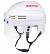 Detroit Red Wings Mini Helmet — White