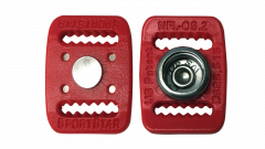 NFL-OS Hybrid Buckles—Scarlet Red