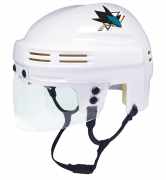 San Jose Sharks Mini Helmet — White