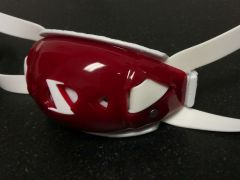 Victory - Regular - T-Rex Hurricane Gel Chinstrap - Maroon