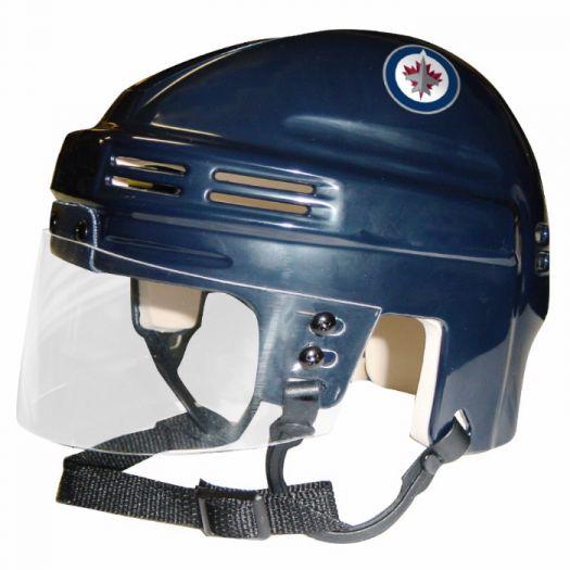 Nhl Winnipeg Jets Helmet Navy Nhl Mini 6 X 5