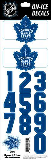 Nhl Toronto Maple Leafs Decals