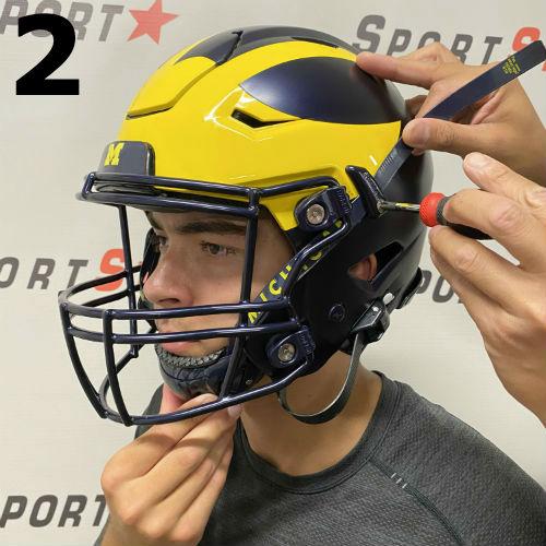 SpeedFlex Chinstrap Fitting - Step 2