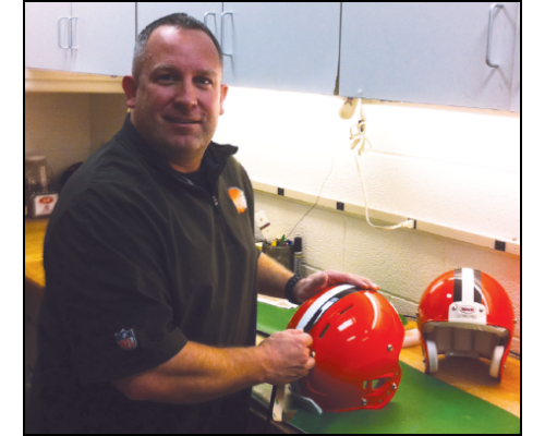 Jim McLaughlin - Assistant Equipment Manager, Cleveland Browns