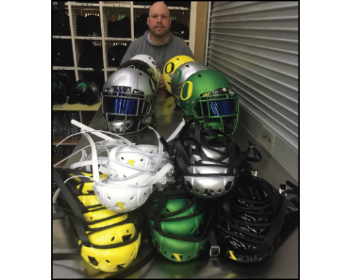 Kenny Farr - University of Oregon, Football Equipment Administrator