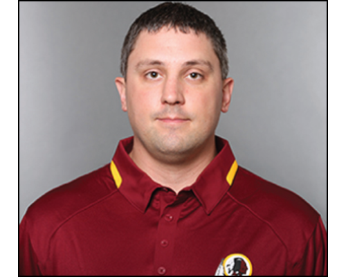 Scott Rotier - Assistant Equipment Manager, Washington Redskins