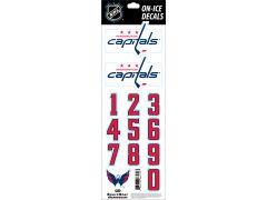 NHL Washington Capitals Decals