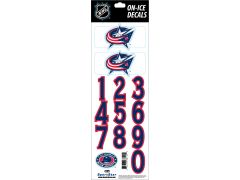 NHL Columbus Blue Jackets Decals