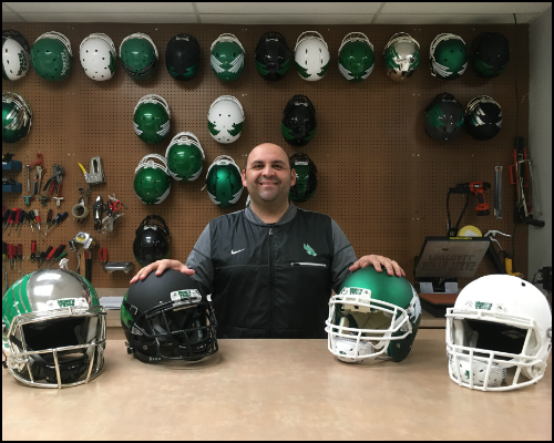 Mike Villa - Assistant Athletic Director for Equipment Operations, University of North Texas