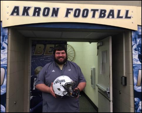JD Jordan - Assistant Equipment Manager - Akron