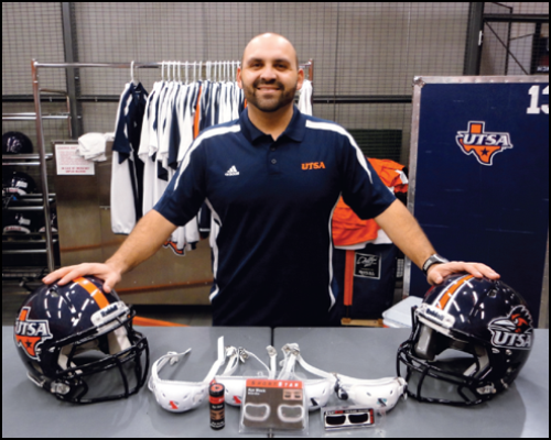Mike Villa - Assistant Athletic Director for Equipment Operations, University of Texas San Antonio