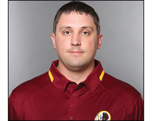 Scott Rotier - Assistant Equipment Manager, Washington Redskins